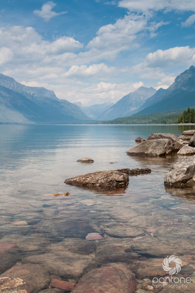 August 09, 2014 Lake McDonald Glacier NP