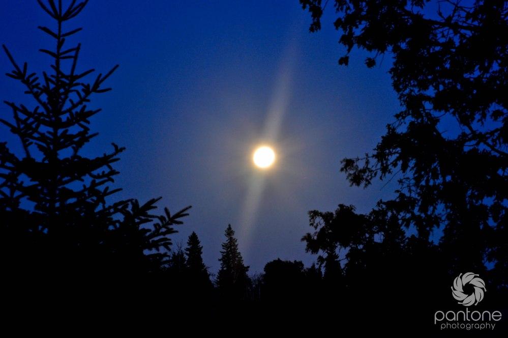 July 03, 2012_Lake Superior moon