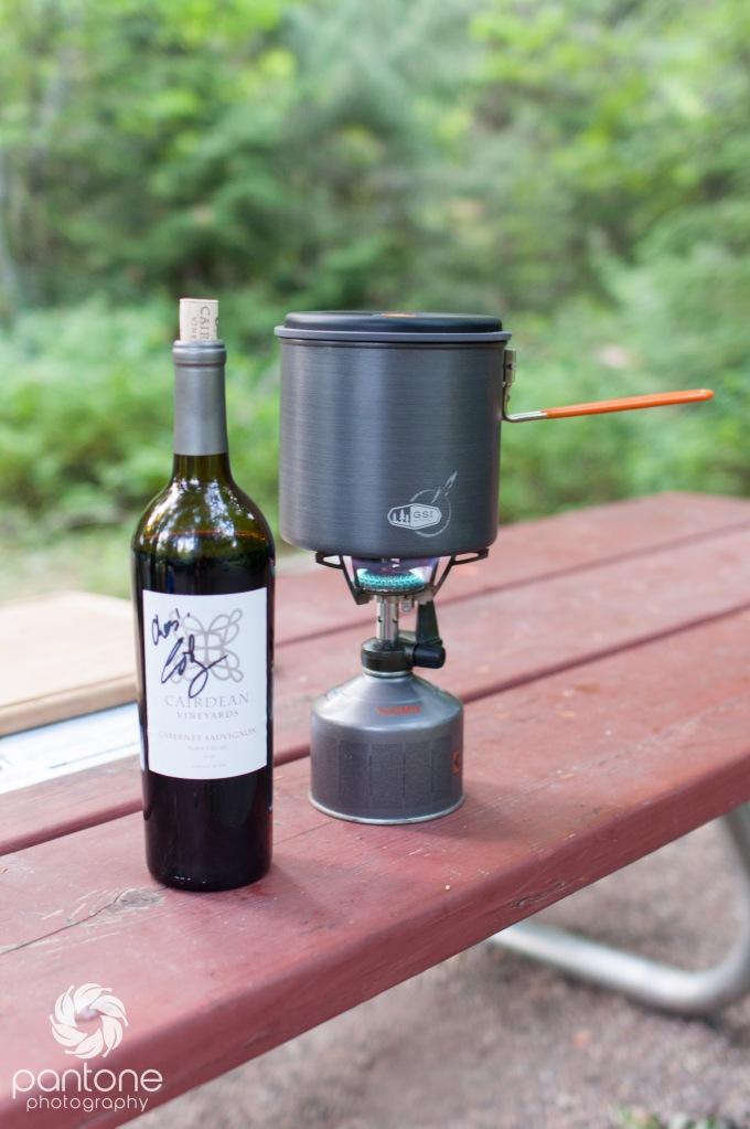 camping & wine