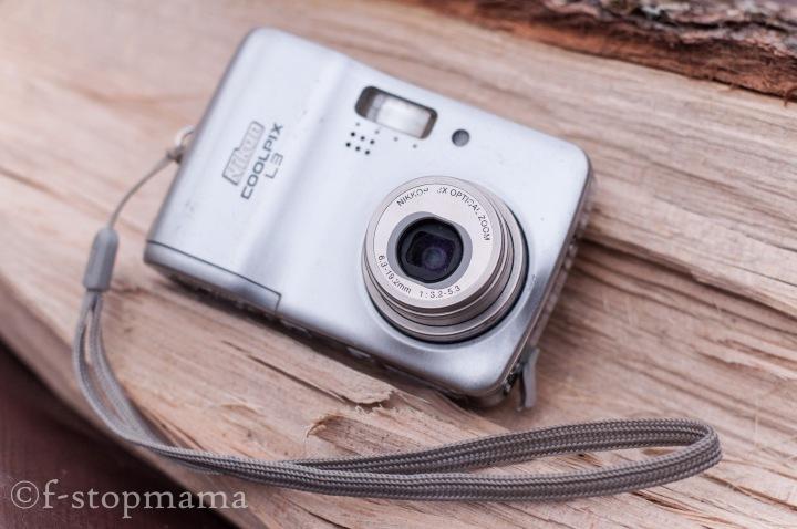 Nikon point and shoot camera