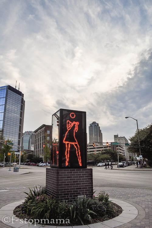 Dancing girl, Mass. Ave, Indianapolis