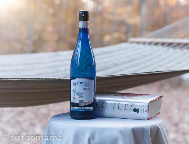 Wine, book & a hammock