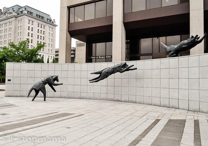 Quebec City art