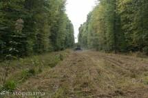 Mowed pipeline