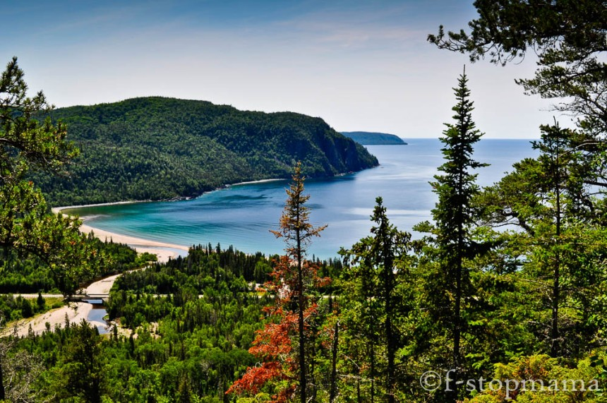 Old Woman Bay at Lake Superior