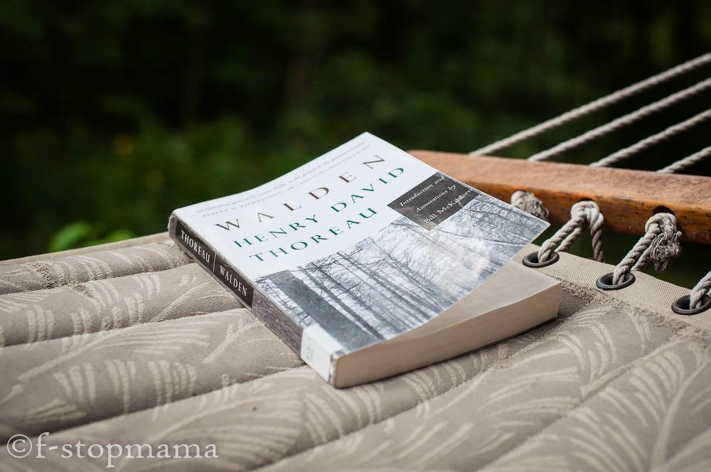 Hammock & book