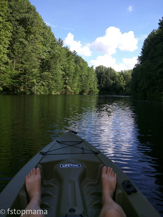 Nature, kayaking