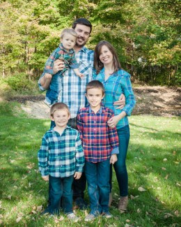 Zionsville family session