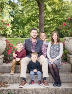 Indianapolis Museum of Art Family Session
